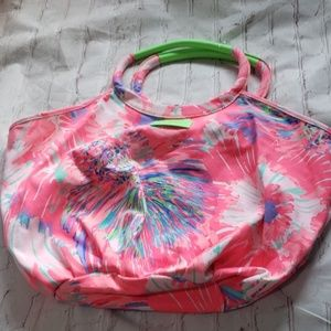 Lilly Pulitzer Large Canvas Tote